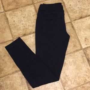 Size Small Navy Blue Jeggings